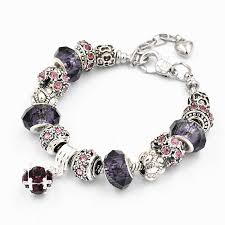 snake chain charm bracelet images Fashion silver plated snake chain charm bracelets jewelry bangles jpg
