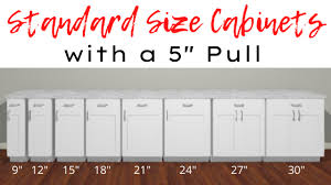 top kitchen cabinets sizes how to choose the best size pulls for your cabinets