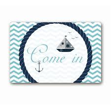Nautical Bath Mat Nautical Bathroom Theme Promotion Shop For Promotional Nautical