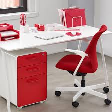 Modern Office Furniture Chairs Red 5th Avenue Chair Modern Office Furniture Poppin Poppin