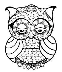 coloring page for adults owl owl coloring page free owl coloring pages display owl coloring page