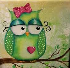 Owl Pictures For Kids Room by Dot Painted Owl With Acrylics On Canvas Original Acrylic Painting
