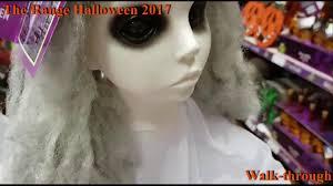 the range halloween 2017 store walk through youtube