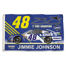 3 X 5 Flags Jimmie Johnson 7 Time Championship 3 U0027 X 5 U0027 Flag By Bsi 2 Sided