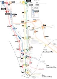 Madrid Subway Map Pm Lower Manhattan Png