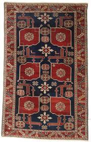 Kuba Rug Antique Caucasian Kuba Region Karagashli Rug Very Fine Weave
