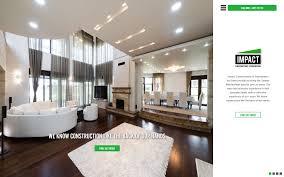 new website design u2013 impact renovation u0026 construction maxshmax