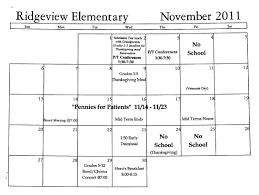 november 2011 calendar lunch menu breakfast menu ridgeview