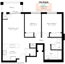 25 more 2 bedroom 3d floor plans 11 loversiq