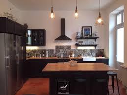 cuisine industrielle deco cuisine mélange d ancien et moderne industriel cuisine