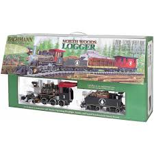 bachmann trains north woods logger large