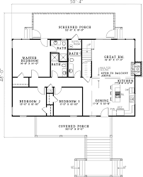 Lakeside Floor Plan Elevated Lakeside Cabin 59952nd Architectural Designs House