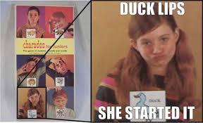 Memes Origin - duck lips origin duck face know your meme