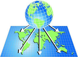 what is a map projection map projection