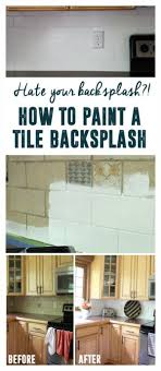paint kitchen backsplash how to paint a tile backsplash painted tiles kitchens and house