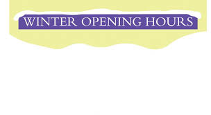 winter opening hours peters of huddersfield
