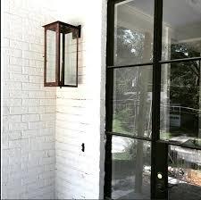 vinyl siding light mount outdoor wall light mounting block