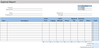 fuel report template free accounting templates in excel