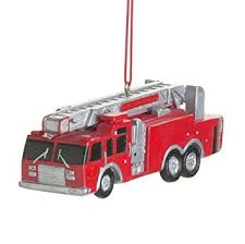 truck resin hanging ornament size