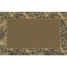 3x4 Area Rugs Marshall 3x4 Mossy Oak Shadow Grass Camo Border Area Rug