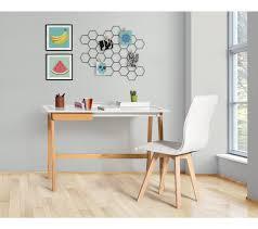 bureau contemporain bureau contemporain blanc et bois bureaux but