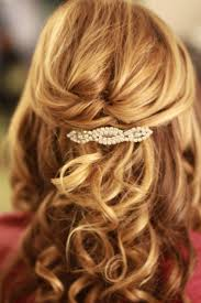 prom hairstyles for medium hair half up half down hairstyle