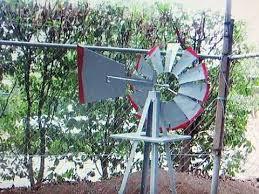 garden windmill ornament 180cm 6ft high