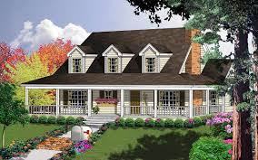 Country Home Plans With Front Porch Plan 7410rd Porches Galore House Plans Bonus Rooms And Country