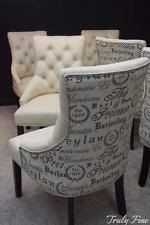French Script Armchair 12 Dining Chairs Ebay