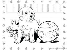 Puppy Coloring Pages To Print Pet Shop Coloring Pages Printable Puppy Color Pages