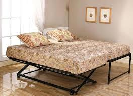 Metal Daybed Frame Pop Up Trundle Bed Metal Trundle Bed Frame Room Size