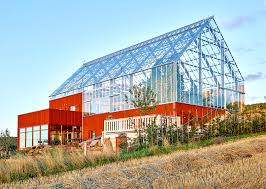 sweden u0027s house in a greenhouse grows food sustainably with
