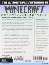 the ultimate player u0027s guide to minecraft stephen o u0027brien