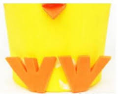 Easter Decorations With Construction Paper by Easter Craft Idea Baby Chicks Easter Basket Sensoryedge Blog