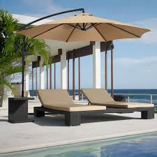 best choice products patio umbrella offset 10 u0027 hanging umbrella