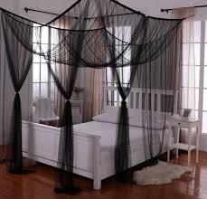 amazon com heavenly 4 post canopy ecru home kitchen