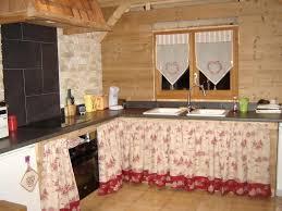 cuisine montagne rideaux cuisine style montagne cuisine style photos sign d int