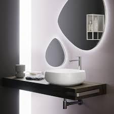 mensola lavabo da appoggio mensola in legno per lavabo da appoggio cm 150 diverse finiture