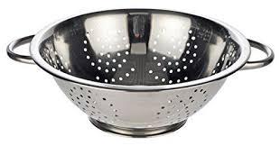 passoire de cuisine passoire passoire cuisine passoire 28 cm en acier inoxydable avec 2