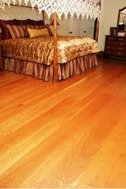 Bedroom Floor Cherry Wide Plank Wood Flooring