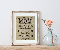 gifts for mothers birthday mothers gift gift for mothers on real burlap featuring a