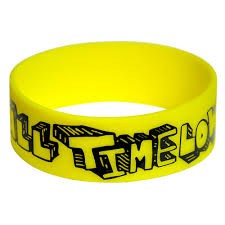 silicone wrist bracelet images Custom wide silicone wristbands screen printed logotags jpg