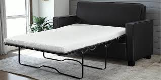 black leather sleeper sofa with elegant modern design 2018