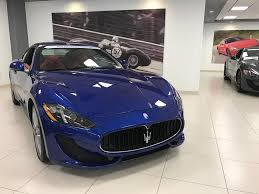 maserati granturismo 2014 used maserati granturismo at maserati of central new jersey