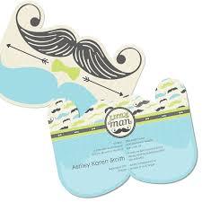 mustache baby shower invitations dashing mustache party shaped baby shower invitations