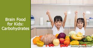brain foods for kids healthy carbohydrates testingmom com