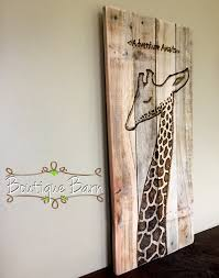 Modern Nursery Wall Decor Giraffe Modern Baby Nursery Giraffe Wall Decor Safari Room Decor