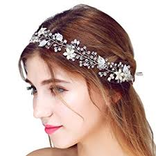 wedding hair bands faybox bridal vintage pearl hairbands wedding