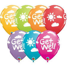 balloons get well soon occasions get well soon wham bam balloon