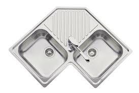 evier cuisine d angle evier d angle luisina inox 2 cuves ev2431 disponible sur oxydiem com